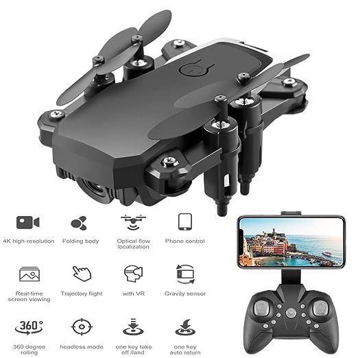 E-kinds Drone, Modo sin Cabeza Quadcopter de 2.4Ghz con un botón ...