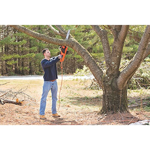 BLACK DECKER Electric Chainsaw, 18-Inch, 15-Amp CS1518