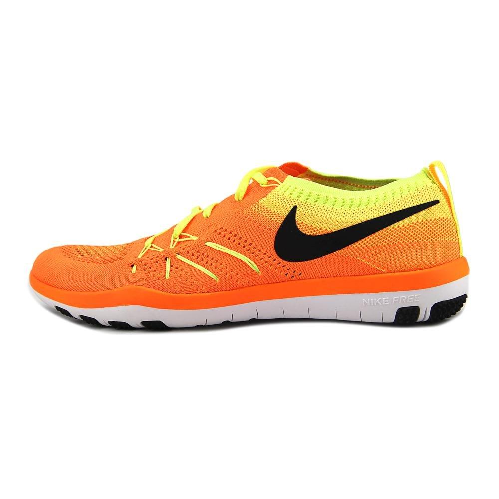cheap for discount e1407 364fd Nike Womens Free Transform Flyknit Total naranja   negro-voltio