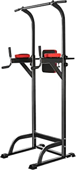ANCHEER Fitness Power Tower Fitness Equipment Workout Dip Station