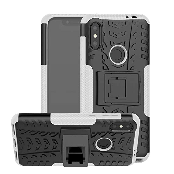promo code ad560 1d703 Amazon.com: Moto One Power Case,JYZR Tough Dual Layer 2 in 1 Rugged ...