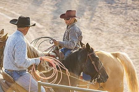 Beefunny Cappello da Cowboy e Set di Accessori Costume in Costume Western Wild Bandana di Paisley caff/è