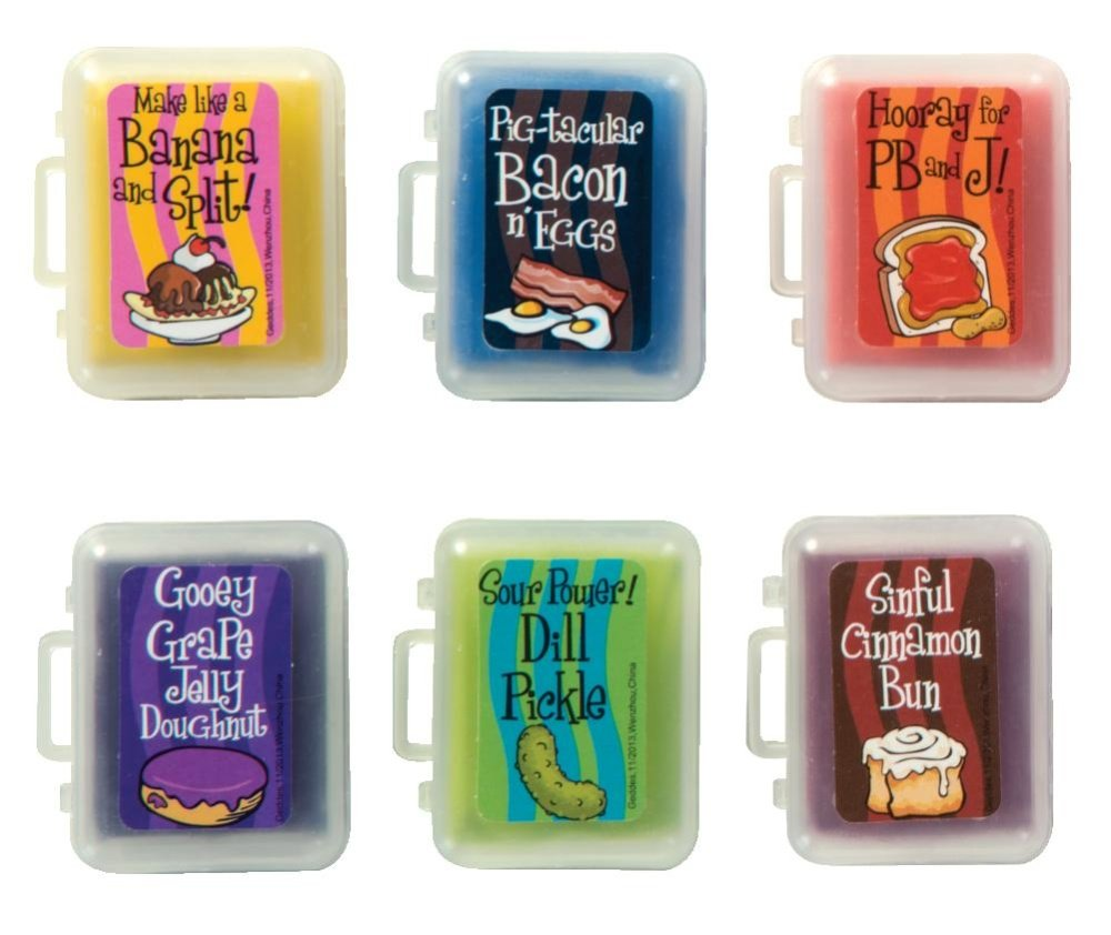 Raymond Geddes Scent-Sibles Doo Wop Kneaded Erasers, 36 Pack (69522) by Raymond Geddes