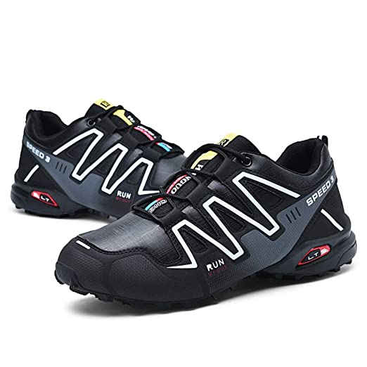 Amazon.com: Hunzed Men【Thick-Soled Non-Slip Sneakers】 Men Running Shoes Hiking Shoes Athletic Outdoor Sports Shoes: Garden & Outdoor