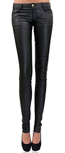 Danaest – Pantalón – skinny – Básico – para mujer negro XXL/46