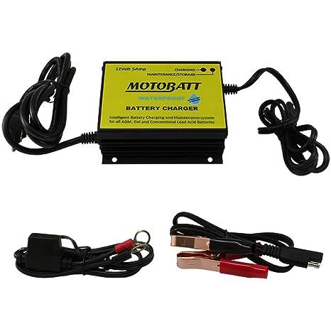 MOTOBATT (mbcpb5 - 12) de Boy Cargador/mantenedor de batería ...
