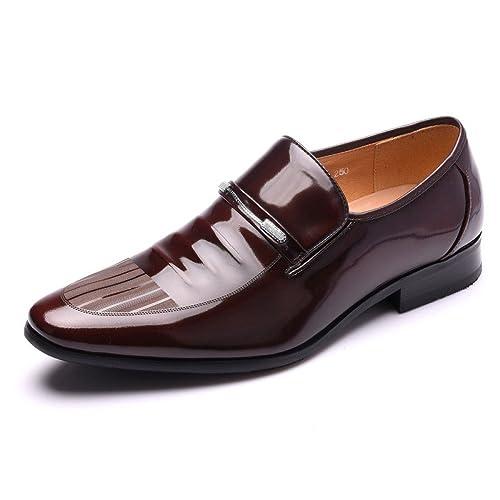 Zapatos De Cuero para Hombres Trajes De Negocios para La ...