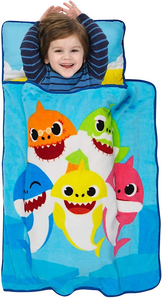 Baby Shark Toddler Nap Mat