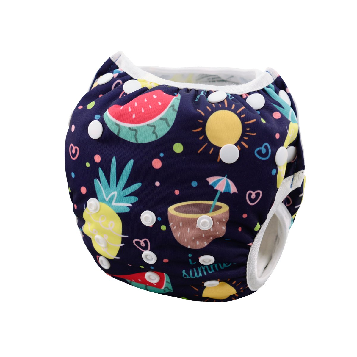 Outdoor Activities and Daily Use babygoal Baby Swim Diapers Fit Babies 0-2 Years SW21-CA Reuseable Washable and Adjustable for Swimming