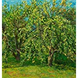 Canvas Prints Of Oil Painting ' Art Reproduction Of The Green Orchard ' , 24 x 25 inch / 61 x 64 cm , High Quality Polyster Canvas Is For Gifts And Foyer, Garage And Home Office Decoration, prints