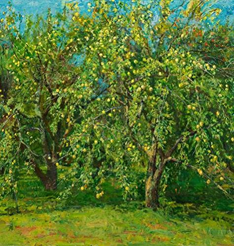 Oil Painting 'Art Reproduction Of The Green Orchard', 24 x 25 inch / 61 x 64 cm , on High Definition HD canvas prints is for Gifts And Foyer, Garage And Home Office Decoration, (Evidence Photo Numbers)