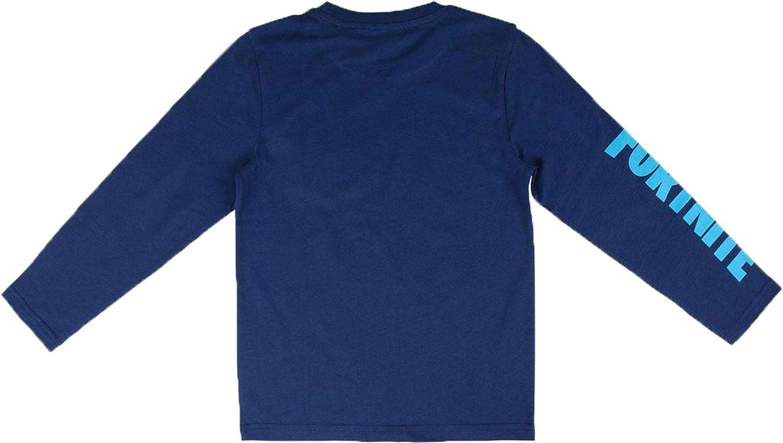 ARTESANIA CERDA FORTNITE Camiseta de Manga Larga, Negro (Negro C02 ...