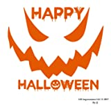 UR Impressions IOrn 10in. Happy Halloween Spooky