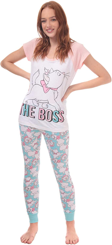 TDP Disney Character Ladies Pyjamas Aristocats Marie UK Sizes 8-22