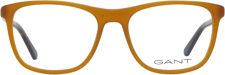 Gant Brille Ga3146 047 53 Monturas de gafas 53.0 para Hombre Amarillo Honig