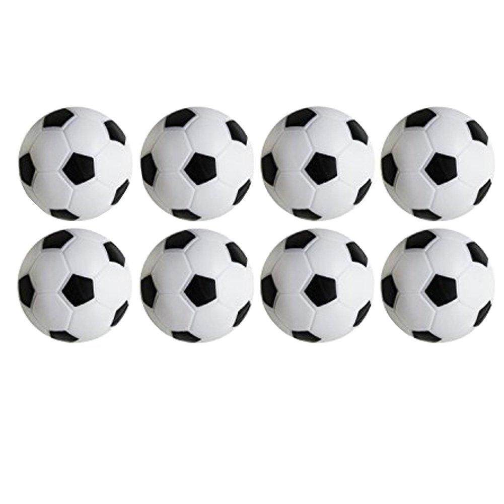 Juego de Foosball de Futbol de Mesa Paquete de PCS Negro y