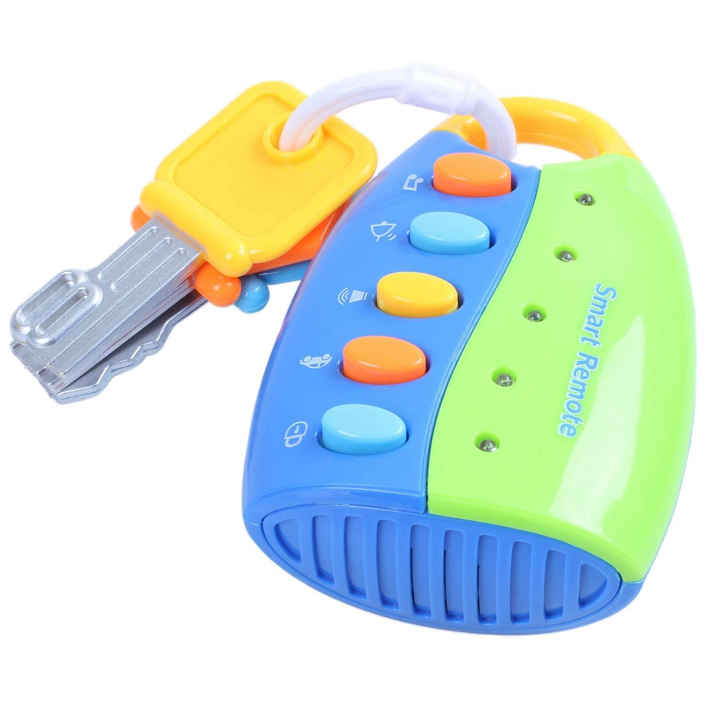 Musical Fernbedienung Auto Schlüssel Spielzeug für Kinder Baby Kleinkinder HH