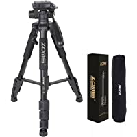 ZoMei Z666 Professional Portable Tripod for Camera and Video Includes Carrying Case Applicable for Canon Nikon Sony