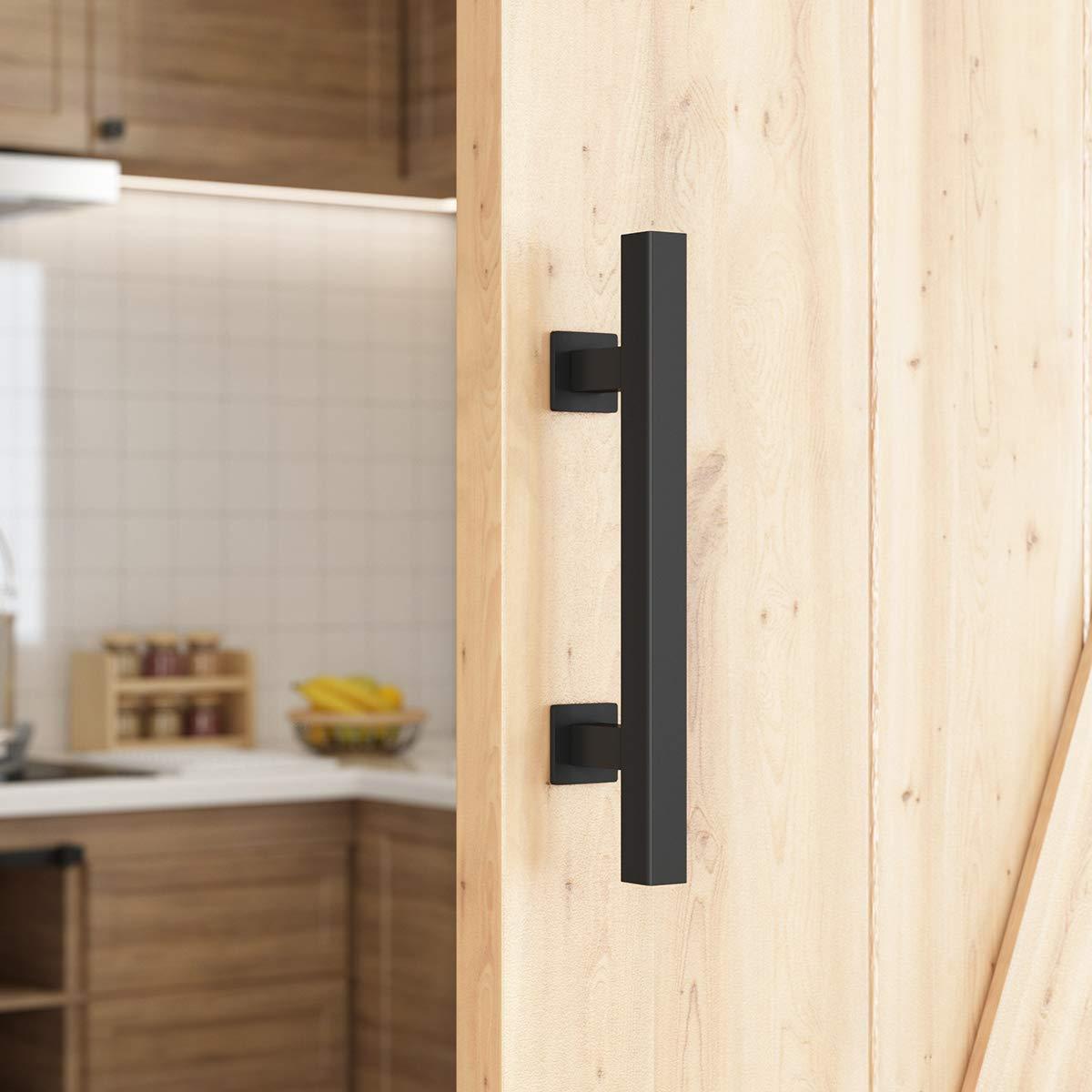 "SMARTSTANDARD 10"" Heavy Duty Barn Door Pull Handle for Gate Kitchen Furniture Cabinet Closet Drawer"