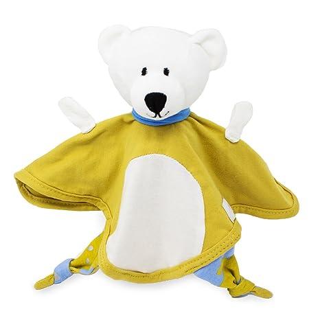 Emma & Noah doudou para bebé oso blanco, para niñas y niños, extra suave
