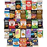 Ultimate Premium Healthy Chips & Snacks Care Package Variety Pack (35 Count) by Variety Fun