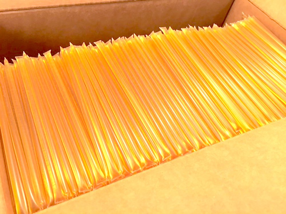 2000 Ct Bulk Box Star Thistle Honey Sticks 100% Pure Honey All Natural Honey Stix Wholesale Honey Unpasteurized Unblended