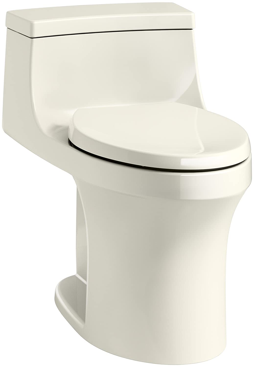KOHLER K-5172-RA-0 San Souci Comfort Height Compact Elongated 1.28 ...