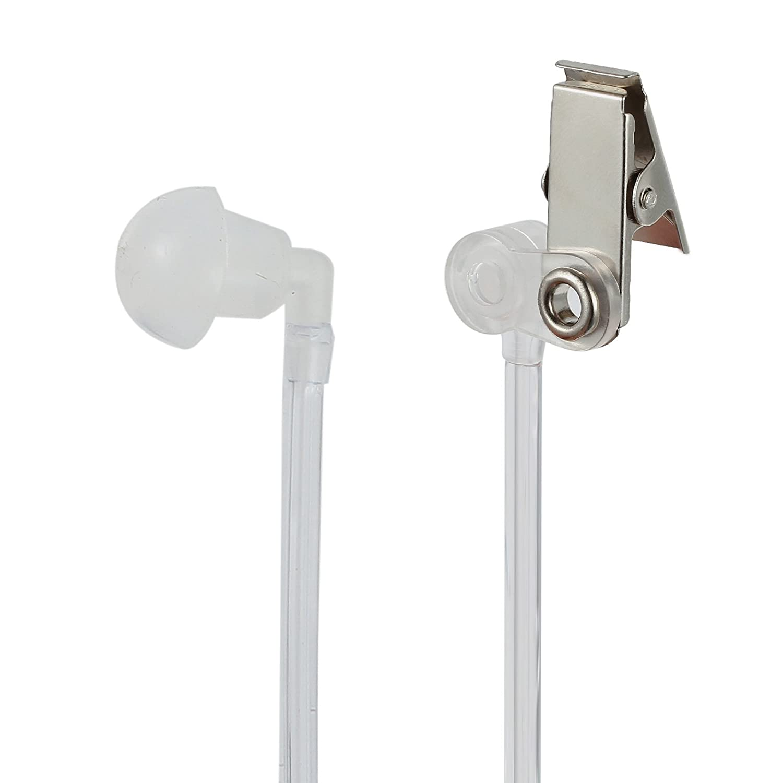 Proster 2-Pin Walkie Talkie Earpiece PTT MIC Covert Acoustic Tube Earpiece Headset for Kenwood PUXING Baofeng UV-5R UV-5RA 888S