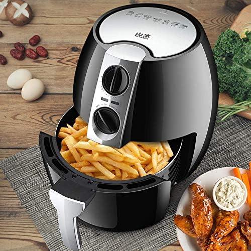 weiwei Friteuse électrique Automatique sans Huile multifonctionnelle sans fumée friteuse à air électrique friteuse à air antiadhésive