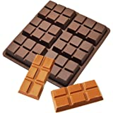 CYCTECH 6 Cell Medium Chocolate Bar Candy Mold Professional Silicone Artisan Mould Cake
