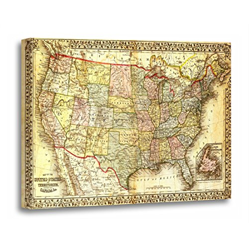 old america map - 4