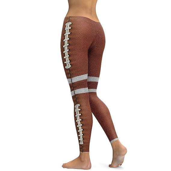 Pantalones Yoga Mujeres, Yusealia Mediados de Cintura ...