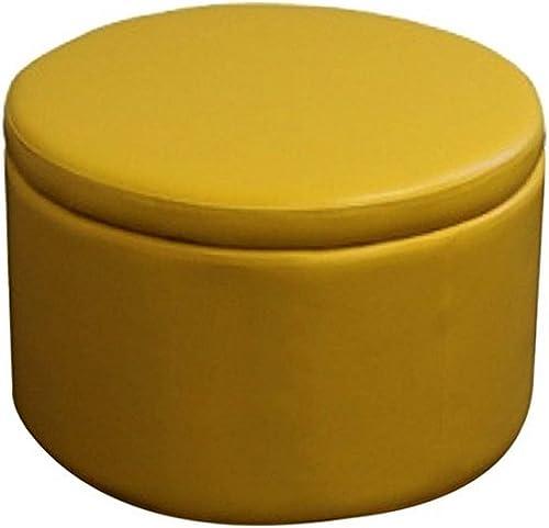 Reviewed: ORE International HB4316 Yellow Storage Ottoman