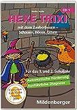 Hexe Trixi mit dem Zauberbesen CD-ROM für Windows 95/98/2000/Me/XP. Schauen, Hören, Lesen. 1. und 2. Schuljahr (Lernmaterialien), Basicversion Einzellizenz