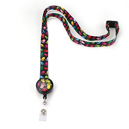 Amazon com : Grekywin Cute but Stylish Lanyard Keychain for Women