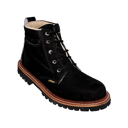 Botas para hombre comodas nobuck negro - Su Favorita 30  Amazon.com ... 5958242d4c1e