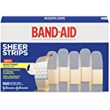 Band-Aid Comfort-Flex Adhesive Bandages-Sheer-100ct, 3/4""