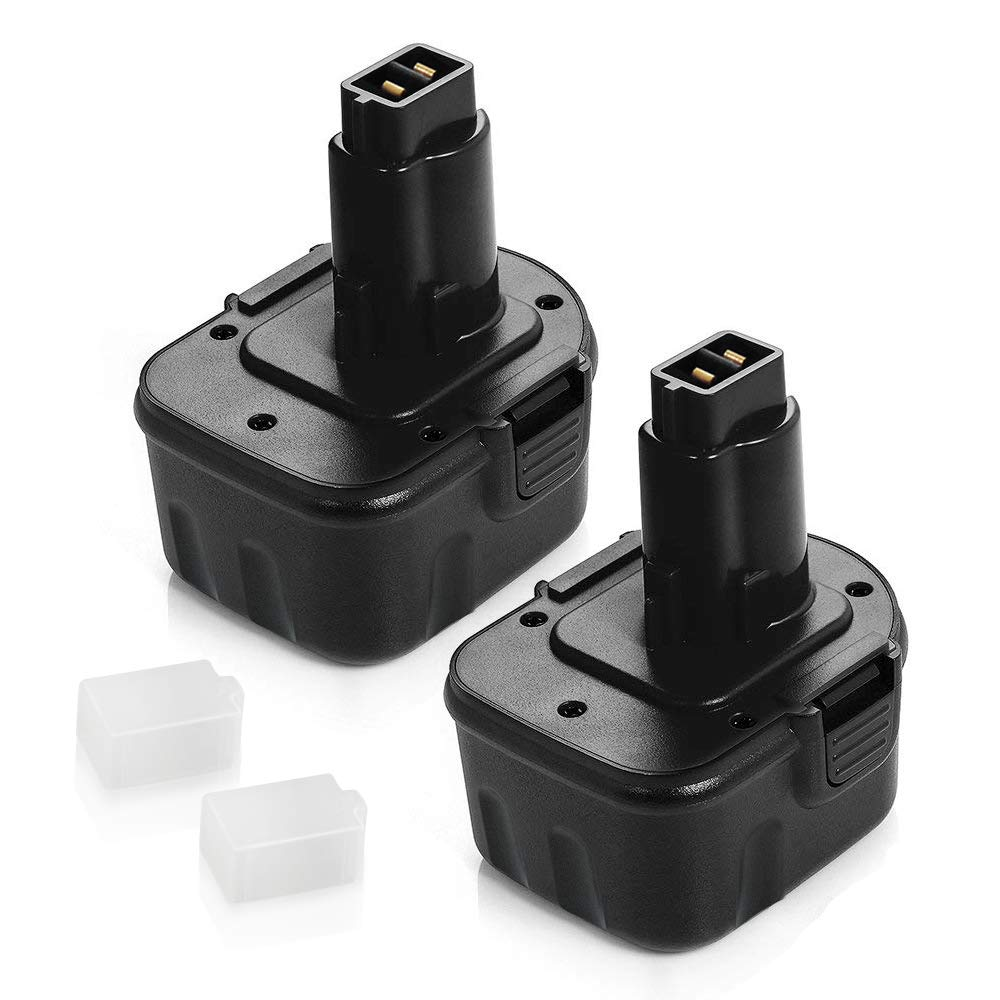 2 Pack 3.6Ah Ni-MH for Dewalt 12v Battery XRP DW9071 DW9072 DC9071 DE9037 DE9071 DE9072 DE9074 DE9075 Replacement for Dewalt 12 volt Battery Cordless Power Tool