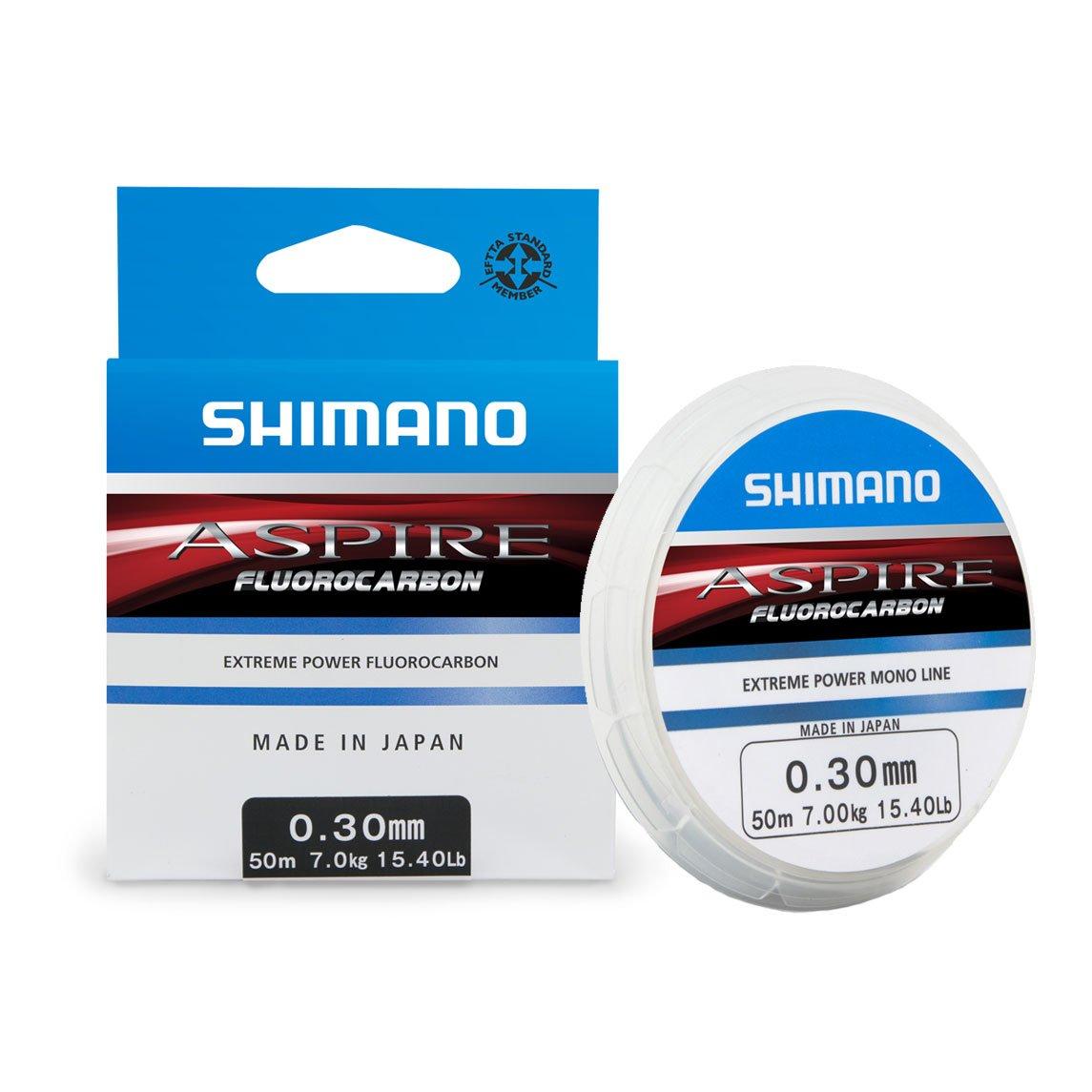 (0,16/m) Shimano Aspire 50m 0,18mm 2,5kg Fluorocarbon Vorfachschnur