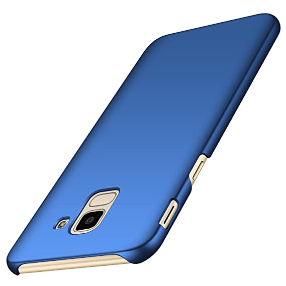 official photos d47d8 5e87e Anccer Samsung Galaxy J6 2018 Case [Colorful Series] [Ultra-Thin]  [Anti-Drop] Premium Material Slim Cover for Samsung Galaxy J6 2018 (Smooth  Blue)