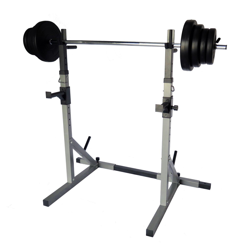 UniBeste Hantelständer Hantelablage Pro702 mit Langhantelset Gewichtenwahl