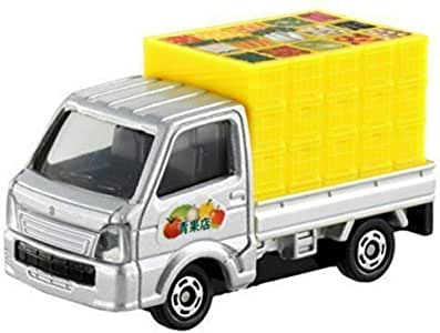 Tomica Suzuki Carry Replica Die-cast Car, Silver and Yellow