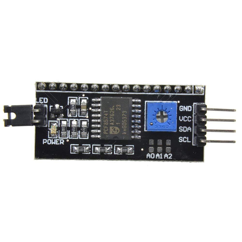 HiLetgo/® 5pcs 2004 20X4 1602 LCD Display Series Adapter 5V IIC I2C TWI SPI for Arduino