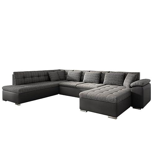 Eckcouch Ecksofa Niko Bis! Design Sofa Couch! mit Schlaffunktion ...