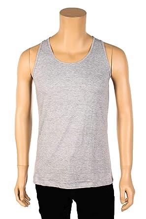 b9ffec47abab2 Beth Clothing Men Loose Fit Tank Top Sleeveless Shirt Singlet Workout Gym  Blank Plain S M L XL