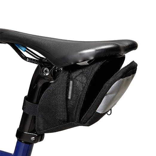 YaGFeng Bicicleta Saddle Bag Bolsas De Sillín De Bicicleta Bolso ...