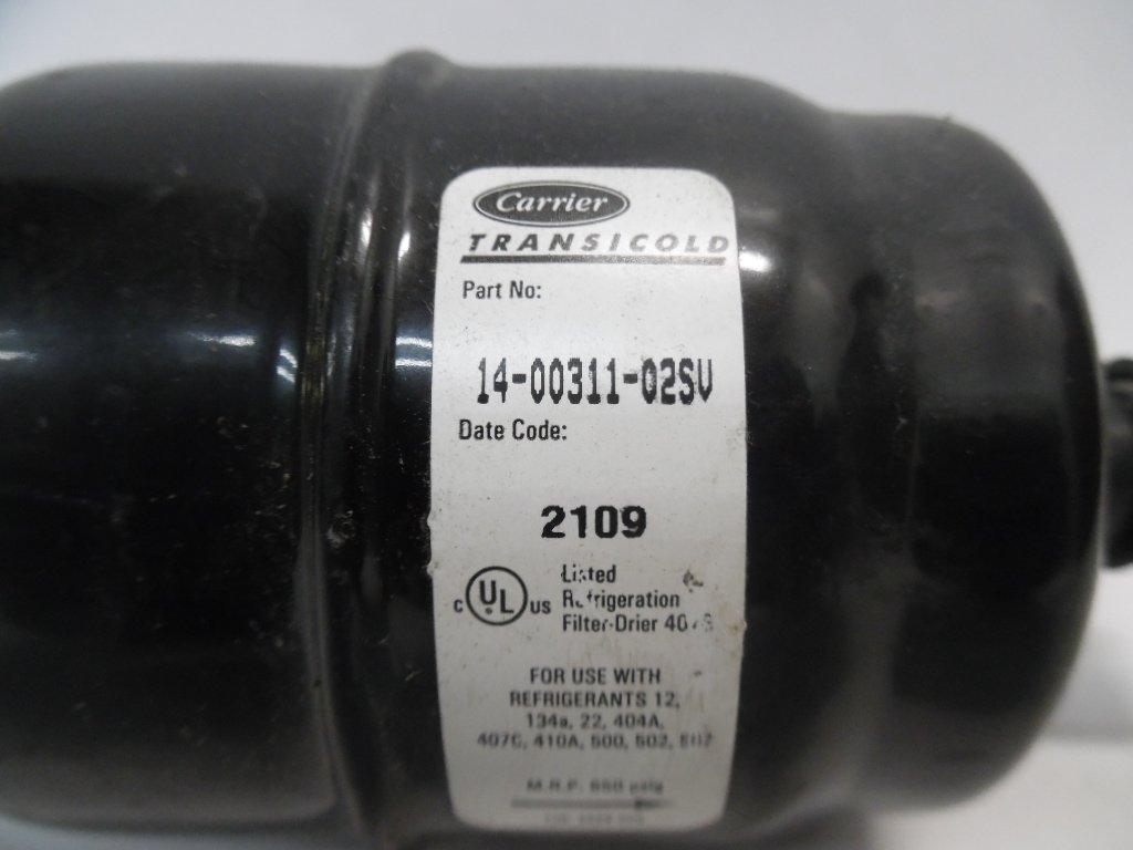 Carrier Reefer Unit Refrigeration Filter-dryer 14-00311-02SV