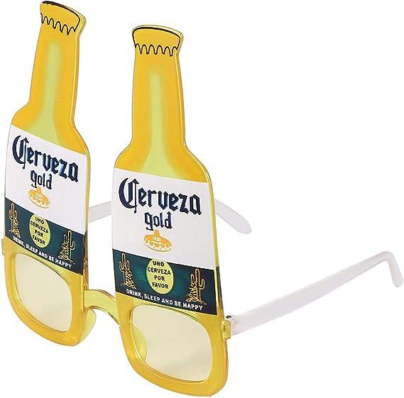 Amosfun Novedosas Gafas Cerveza Gafas Gafas de cervecero para ...