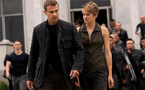 Theo James And Shailene Woodley Insurgent