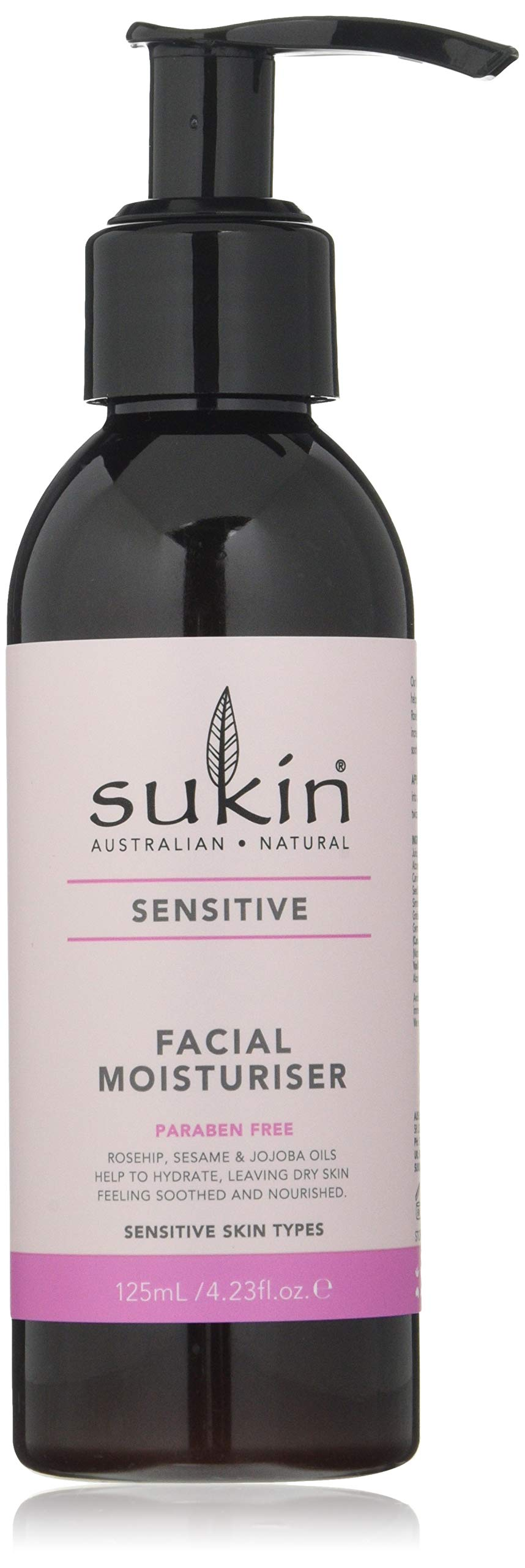 Sukin Sensitive Facial Moisturiser 125ml
